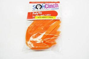 Polygon 1030-10 saddle hook and loop orange velcro