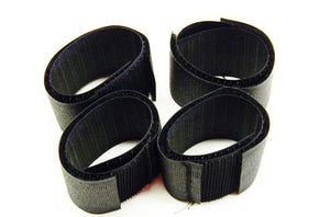 Polygon 1141-4 saddle hook and loop black Velcro