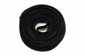 Polygon 3105-25 5 inch black Velcro cable tie