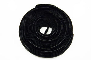 Polygon 3108-X-25 8 inch black Velcro cable tie