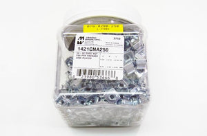 Hammond 1421CNA250 10-32 cage nuts 250 per pack