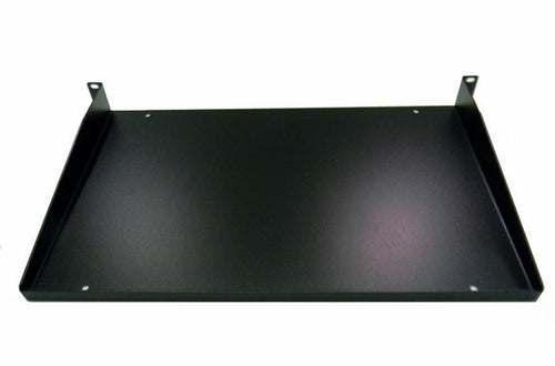 Hammond 1U 11 inch deep solid front mount shelf