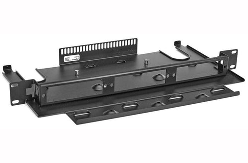 Hubbell FTR175SP 1U 3 slot fiber optic rack mount tray