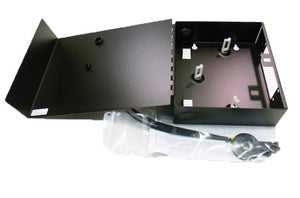Hubbell FTU2SP 2 slot fiber optic wall mount enclosure