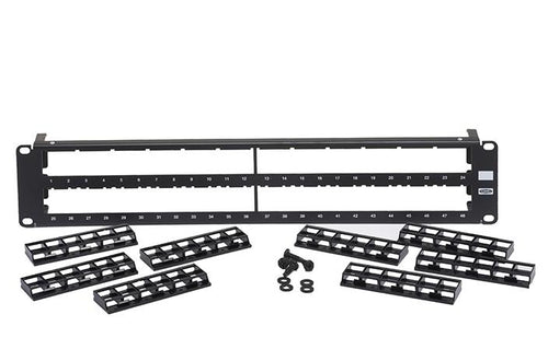 Hubbell HPJ48 unloaded 48-port patch panel