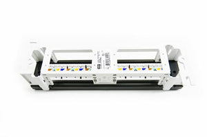 Hubbell HP612-P612U Cat6 12-port wall mount patch panel