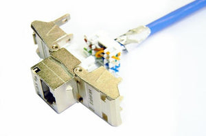 SJ6 Hubbell RJ45 Ethernet Cat6 shielded keystone jack