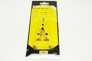 Hubbell TCS3 category cable stripper