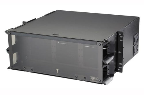 Hubbell FCR4U15SP 4U 15 slot fiber optic rack mount panel