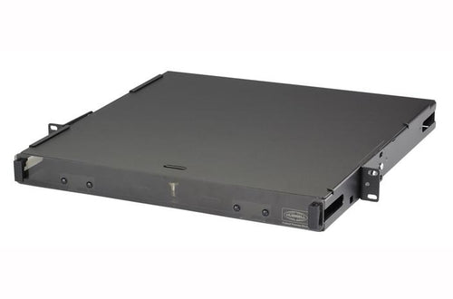 Hubbell FCR1U3SP 1U 3 slot fiber optic rack mount panel