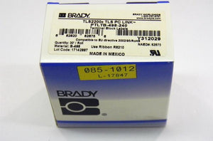 Brady PTLTB-498-240 .24 inch x 30 feet vinyl cloth label