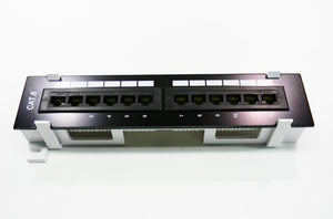 Datcom Realm Cat6 12-port patch panel