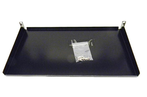 Datcom Realm 1U 10 inch deep solid front mount shelf
