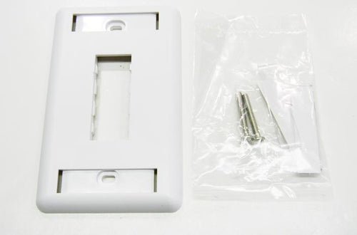 Ortronics OR-40300548-88  2 port wall mount faceplate white