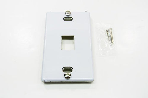 Ortronics OR-403STJ1WP 1 port faceplate stainless steel