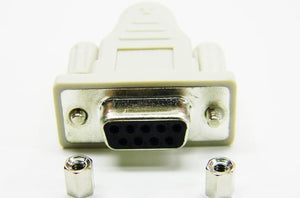 Datcom Realm DB9F to 6 pin female din PS2 adaptor