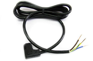 Volex 17536 IEC-60320 C13 right angle to open power cord x 2m
