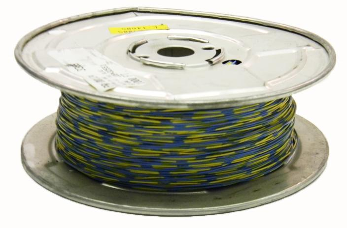 Comtran 3395 24 AWG 1PR Cat2 blue/yellow cross connect