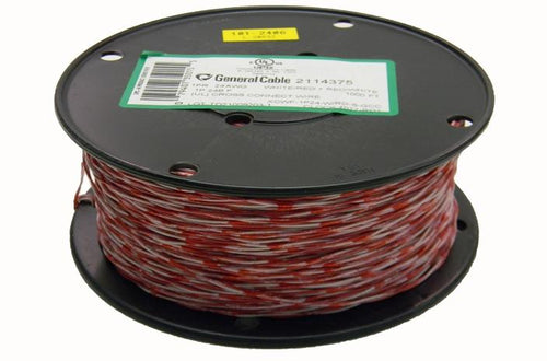 General 2114375 24 AWG 1PR Cat3 red/white cross connect