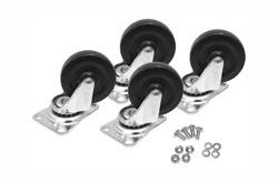 Hammond 1425BM medium duty casters set of four