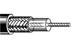 Belden 8216 26 gauge stranded RG-174/U 50OHM coaxial cable
