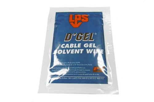LPS 61244 D'Gel OSP cable solvent wipe