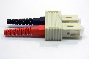 Datcom Realm SC m/m duplex connector for 2mm jacket