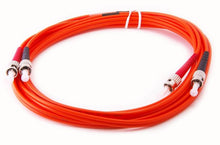Load image into Gallery viewer, Datcom Realm ST/ST OM1 MM 3mm fiber patch cord x 10ft