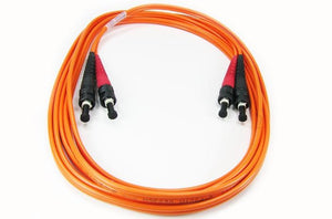 Datcom Assured ST/ST OM1 MM 3mm fiber patch cord x 8ft