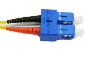 Datcom Realm SC/SC OS2 SM 2mm fiber patch cord x 3.28ft