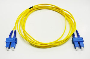 Datcom Assured SC/SC OS2 SM 2mm fiber patch cord x 19.48ft