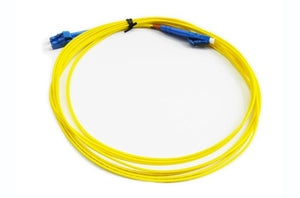 Datcom Realm LC/LC OS2 SM 1.6mm fiber patch cord x 7ft