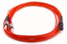 Load image into Gallery viewer, Datcom Realm MTRJ/ST OM1 MM 2mm fiber patch cord x 16.4ft