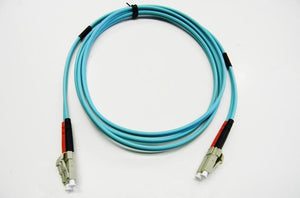 Datcom Assured LC/LC OM3 MM 3mm fiber patch cord x 40ft