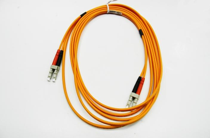Datcom Assured LC/LC OM2 MM 3mm fiber patch cord x 10ft