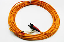 Load image into Gallery viewer, Datcom Assured LC/ST OM2 MM 3mm fiber patch cord x 50ft