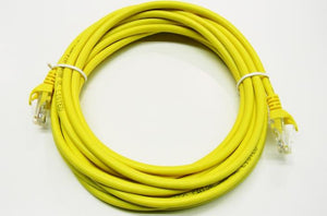 Datcom Realm Ethernet Cat5e yellow patch cable x 15 feet