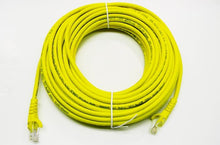 Load image into Gallery viewer, Datcom Realm Ethernet Cat5e yellow patch cable x 50 feet