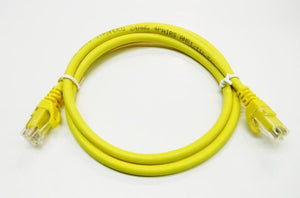 Datcom Realm Ethernet Cat6 yellow patch cable x 3 feet