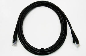 Datcom Assured outdoor Ethernet Cat6 black patch cable x 10 feet