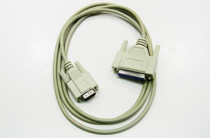 Datcom Realm DB9m/ DB25f AT modem cable assembly x 6 feet