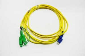 Datcom Assured SC APC/LC OS2 SM 3mm fiber patch cord x 16.4ft