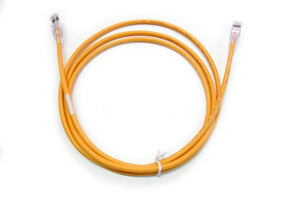 9J3007-007 C5e Orange ethernet null cable x 7ft