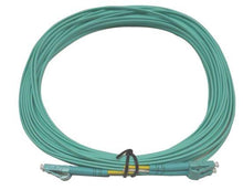 Load image into Gallery viewer, Datcom Realm LC/LC OM3 MM 2mm fiber patch cord x 26ft
