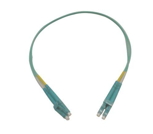 Datcom Realm LC/LC OM3 MM 2mm fiber patch cord x 1.5ft