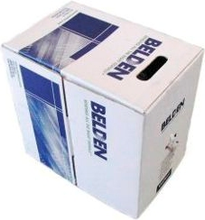 Load image into Gallery viewer, Belden 2412 CAT6 4 pair UTP blue riser-cmr cable
