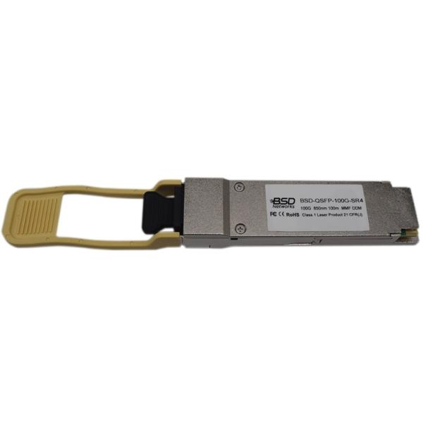 BSD-QSFP-100G-SR4 100GB/s 850nm MMF DDM SFP Modules,100m
