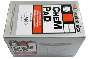 Chemtronics CP400 Chempad anti-Static wipes, Pack of 50