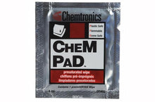 Load image into Gallery viewer, Chemtronics CP400 Chempad anti-Static wipes, Pack of 50