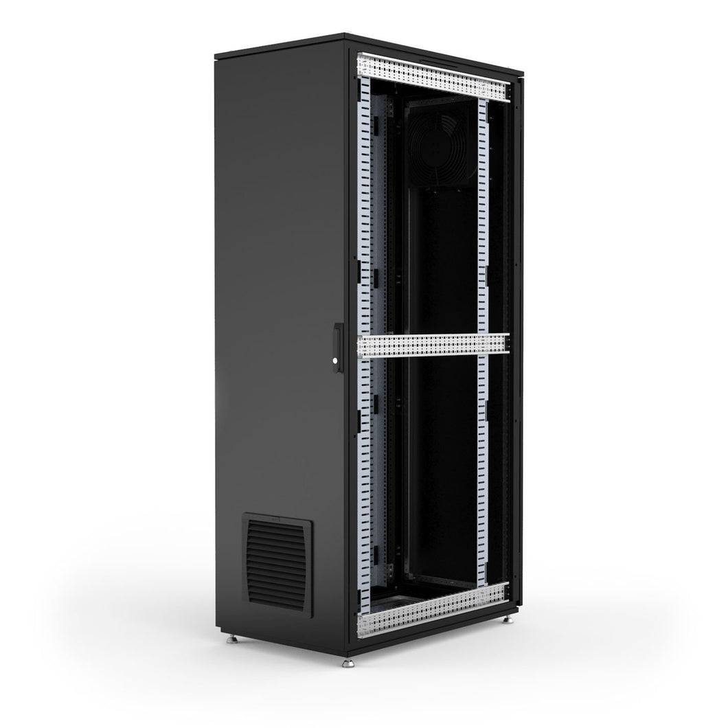 Hammond NEMA rated HDME2068BK dust-tight server cabinet